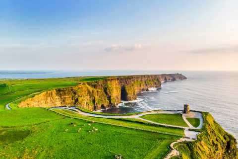From Dublin: Cliffs of Moher-Full-Day Trip with Visitor Centre Entry