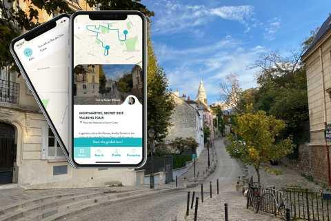 Paris: Secret Montmartre Audio-Guided Walking Tour