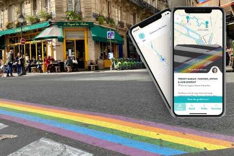Paris: Marais District Smartphone Audio-Guided Tour