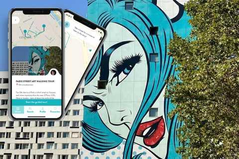 Paris: Street Art Smartphone Audio-Guided Tour