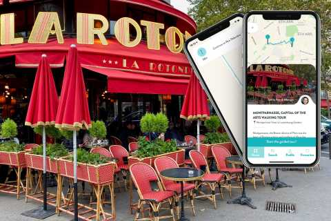 Paris: Montparnasse Smartphone Audio-Guided Tour