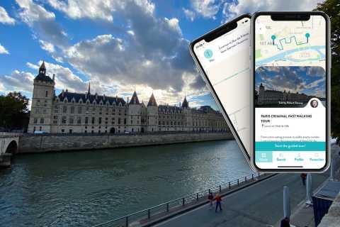 Paris: History of Crime Smartphone Audio Guide Walking Tour