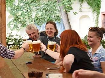 Prag: 3-stündige Biertour und tschechisches Abendessen