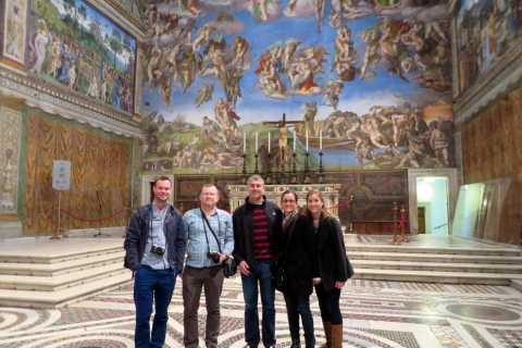 Vatican: Sistine Chapel and St. Peter's Basilica Day Tour