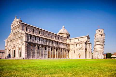 From Florence: Pisa, Siena, San Gimignano, Chianti Day Trip with Siena Cathedral and Lunch