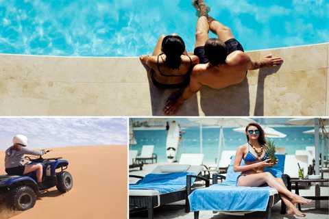 Dubai: safari nel deserto, dune bashing, quad e spiaggia