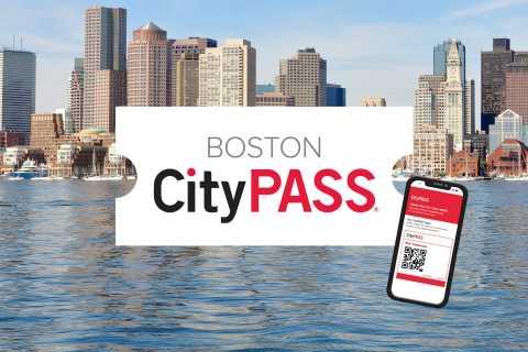 Boston CityPASS®: Sparen Sie 45% bei 4 Top-Attraktionen