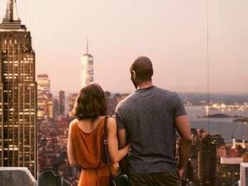 NYC: Top of the Rock Observation Deck Ticket mit Zeitfenster. Foto: GetYourGuide