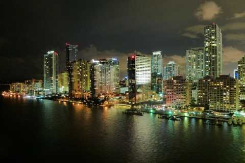 Miami: crucero nocturno de 1,5 horas por la bahía de Biscayne