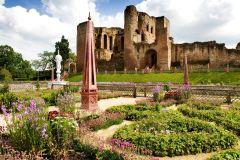 Ingresso de entrada para o Castelo Kenilworth e Jardim Isabelino