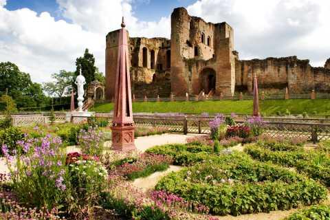 Entrébillet til Kenilworth Castle og Elizabethan Garden