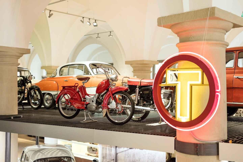 Dresden: Eintrittskarte für das Dresdner Verkehrsmuseum