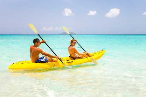 St. John: Kayak, Hike & Snorkel 5-Hour Adventure