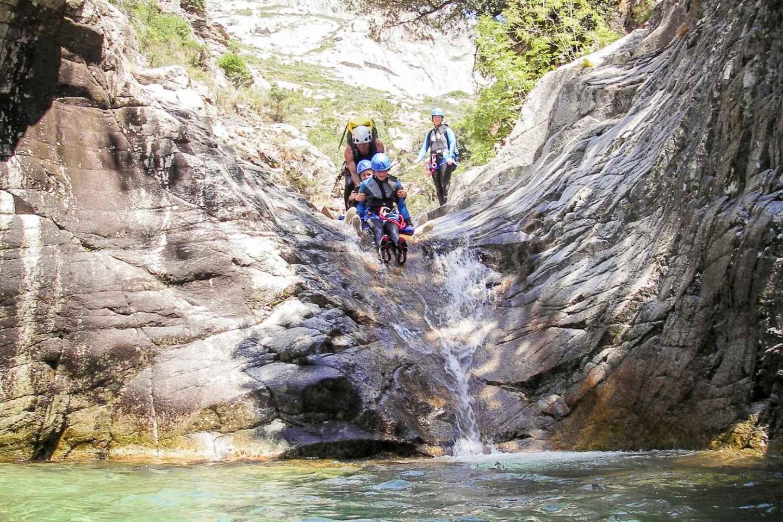 Corte: Familienfreundliches Vecchio River Canyoning