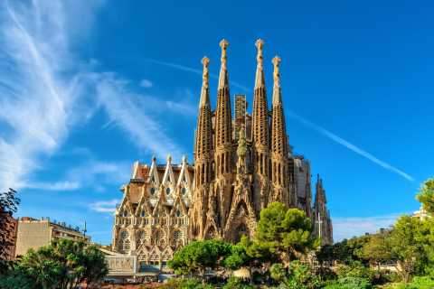 Barcelona: excursão de um dia com a Sagrada Família e o Parque Güell