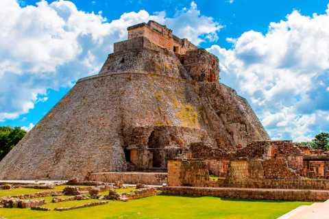 Van Mérida: dagtocht naar Uxmal met bezoek aan chocolademuseum