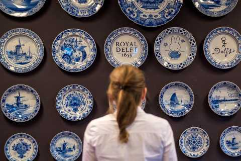 Royal Delft: Delftblue Factory and Museum