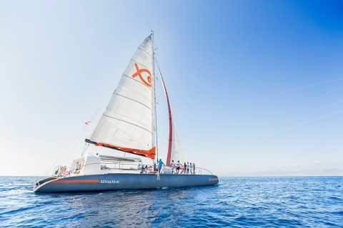 Palma de Mallorca: tour en catamarán de lujo con comida buffet