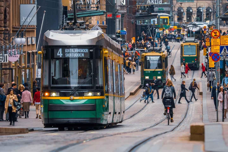 Helsinki: Straßenbahntour
