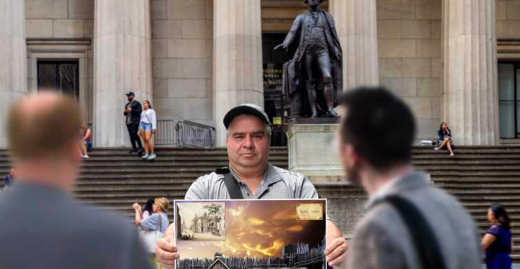 New York: Wall Street Tour med Statue of Liberty Ticket