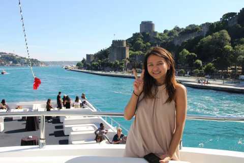 Istanbul: 2,5-stündige Bootsfahrt auf dem Bosporus
