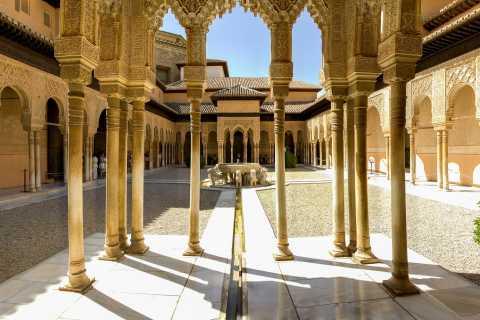 Alhambra: Omvisning inkl. Nasrid-palassene