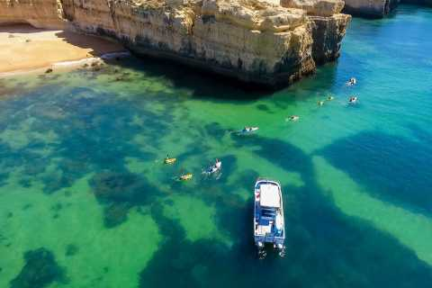 Albufeira: Kayaking Tour With Optional Beach BBQ