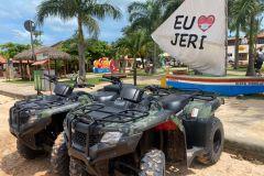 Costa Leste de Jericoacoara: Tour de dia inteiro em ATV em português
