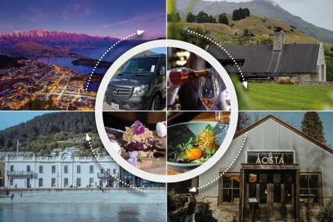 Queenstown: Progressive Dinner and Wine Tour at 3 Locations