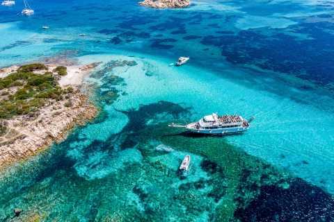 From Sardinia: La Maddalena Archipelago Full-Day Boat Tour
