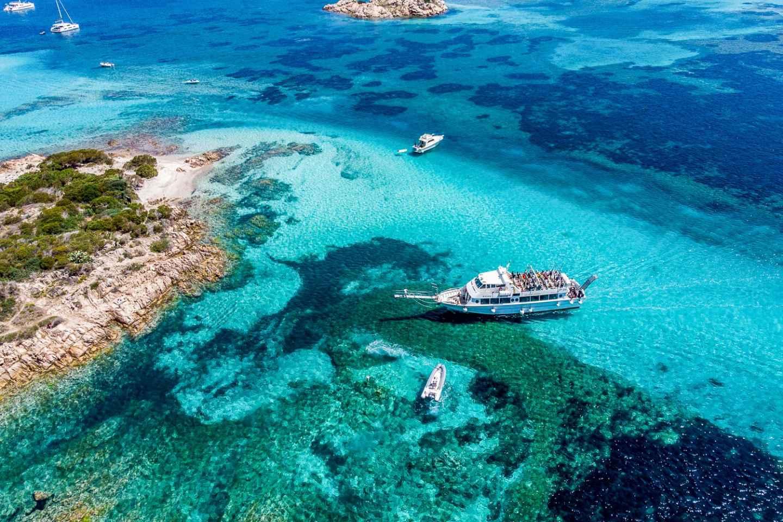 Ab Sardinien: La Maddalena Archipel - Ganztägige Bootstour