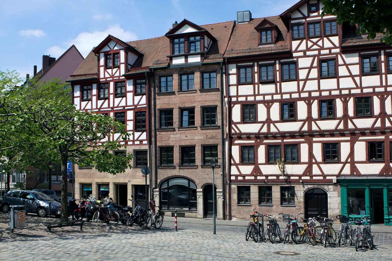 Nürnberg: Geführte Radtour durch die Altstadt