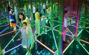 Jewel Changi Airport: Mirror Maze and Canopy Park Ticket
