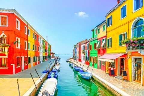 Ab Venedig: Murano, Burano und Torcello Bootsfahrt