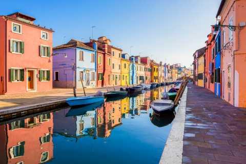 Ab Venedig: Murano, Burano und Torcello - halbtägige Bootsfahrt mit Live-Guide