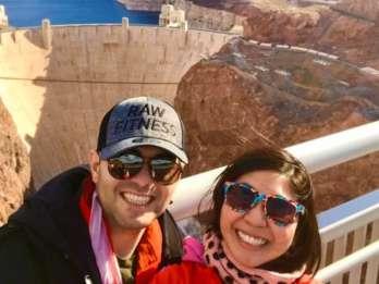Las Vegas: Hoover Dam Walk-on-the-Top Tour mit Mittagessen