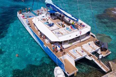 Bugibba: Blue Lagoon Evening Catamaran Cruise