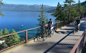 Lake Tahoe: East Shore Trail Self-Guided Electric Bike Tour