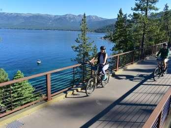 Lake Tahoe: Selbstgeführte E-Bike-Tour auf dem East Shore Trail