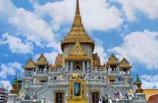 Bangkok: Chinatown und Wat Traimit Selbstgeführte Wanderung