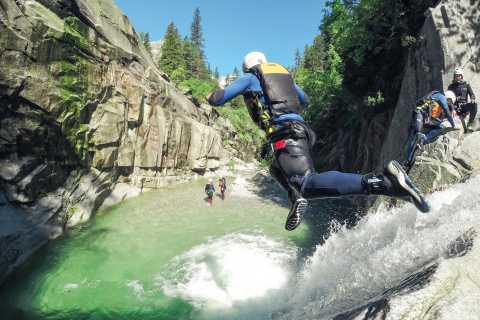 Canyoning in Grimsel Gorge