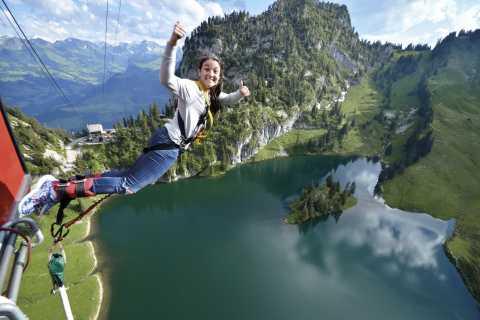 Stockhorn Bungy Jump