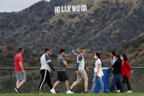 Los Angeles: Hollywood Sign 2.5 Hour Guided Hiking Tour