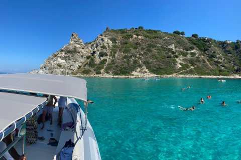 Tropea: Båttur til Capo Vaticano med snorkling