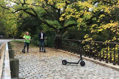 New York City: Central Park 2 Hour Electric Scooter Tour