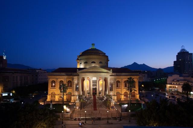 Palermo: rondleiding Teatro Massimo Opera House