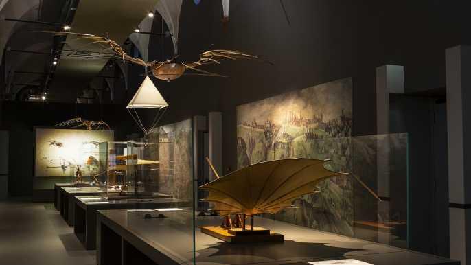 Milán: entrada al Museo de ciencia y tecnología Leonardo da Vinci