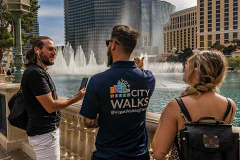 Las Vegas: City Walking Tour with Guided Experiences