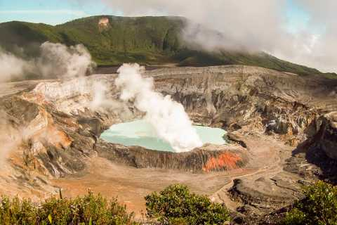 Poás Volcano, Coffee Plantation & La Paz Waterfall Gardens
