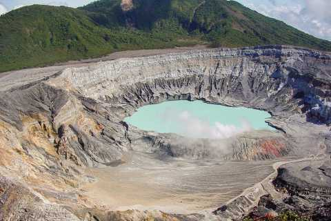 Poas Volcano, Doka Estate & La Paz Waterfall Combo Tour